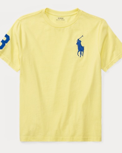 Big Pony Cotton Jersey T-Shirt