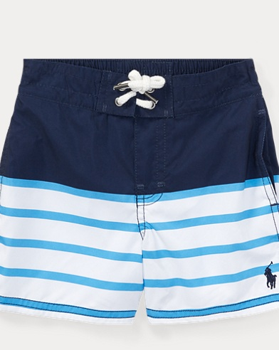 Sanibel Striped Swim Trunk
