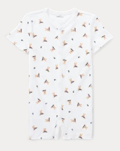 Polo Bear Cotton Shortall