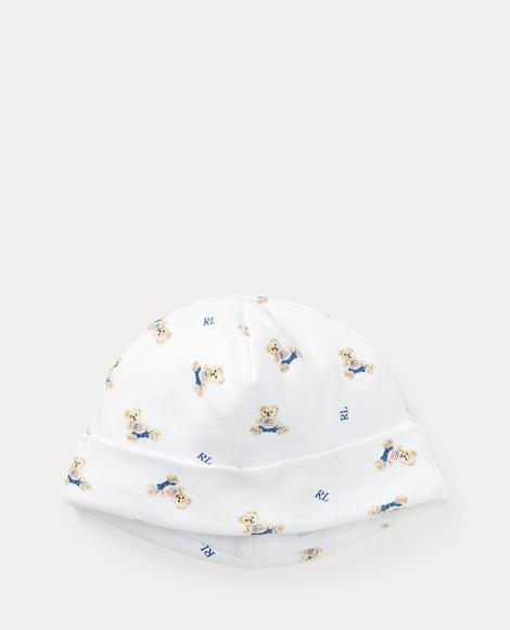 Polo Bear Cotton Hat