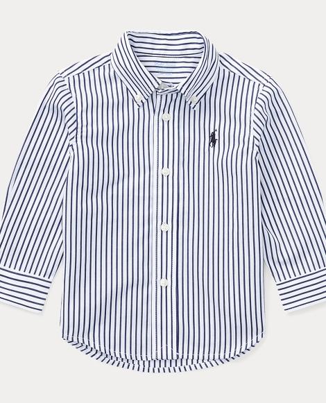 Blake Striped Cotton Shirt