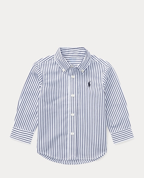 Blake Striped Cotton Shirt