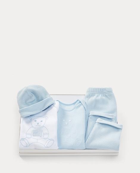 Polo Bear 4-Piece Gift Set