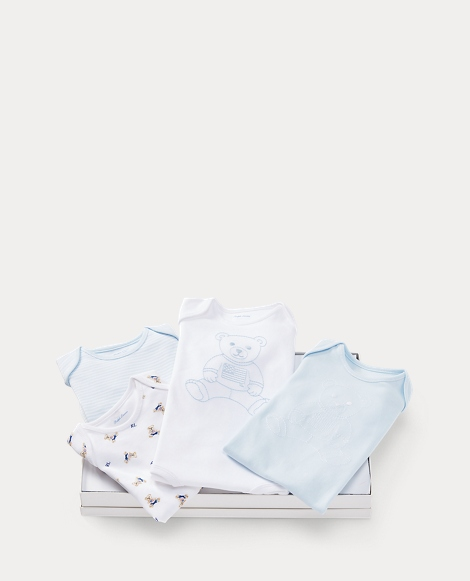 Bodysuit 4-Piece Gift Set