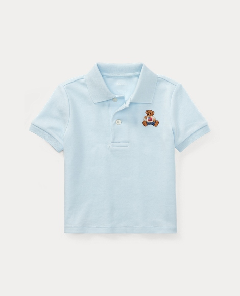 Polo Bear Cotton Polo Shirt