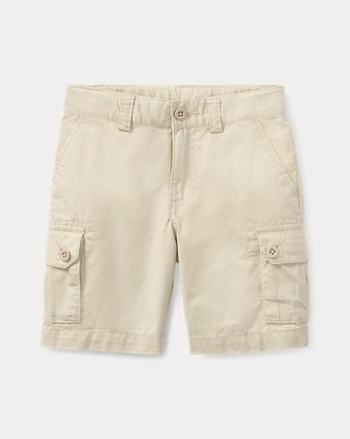 Cotton Chino Cargo Short