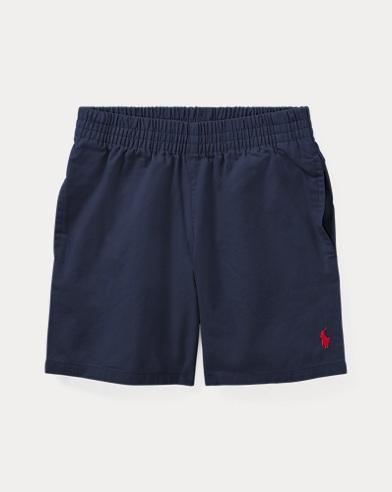 Cotton Chino Pull-On Short