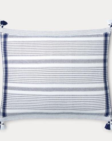 Luna Striped Throw Pillow