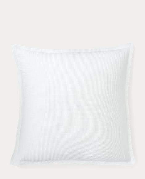 Flora Waffle Throw Pillow
