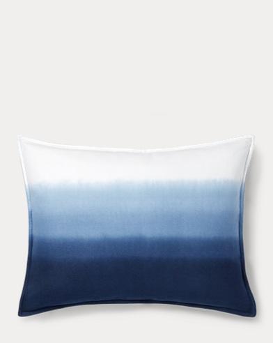 Flora Dip-Dyed Throw Pillow