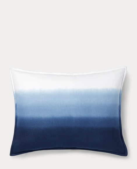 Flora Dip-Dyed Throw Pillow