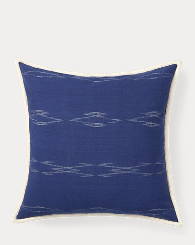 Luna Ikat Throw Pillow