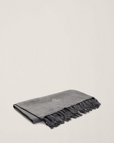 Aldrich Linen Throw Blanket