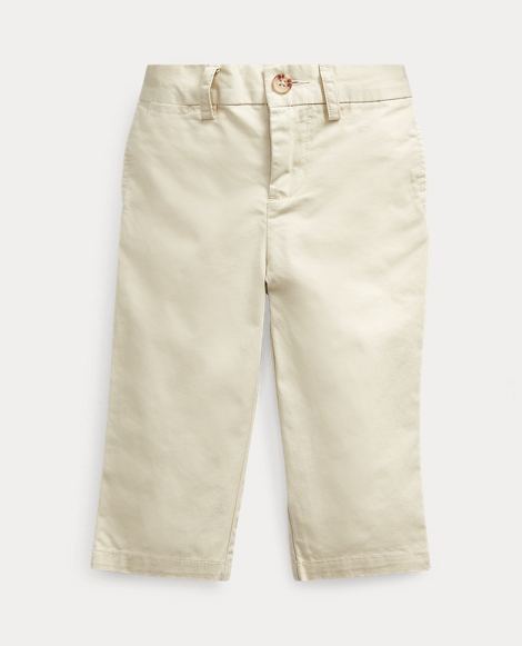 Flat-Front Cotton Chino