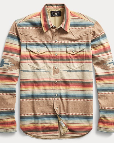 Cotton Jersey Western Shirt