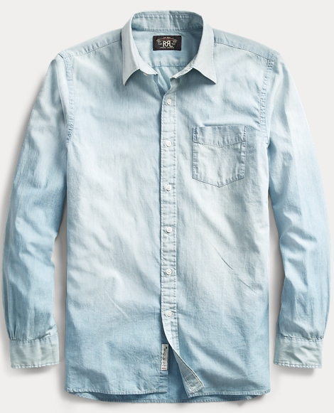 Chambray Poplin Dress Shirt