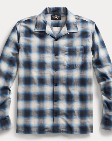 Plaid Cotton Poplin Workshirt