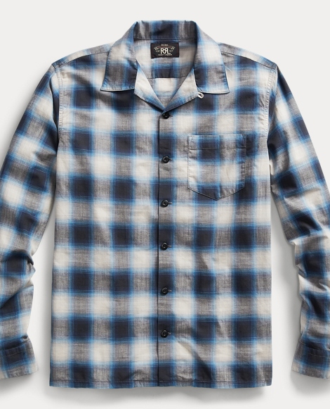 Plaid Cotton Poplin Workshirt