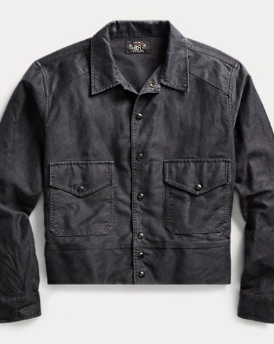 Embroidered Overshirt