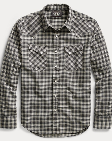 Cotton Twill Western Shirt
