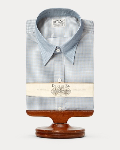 Eli Print Cotton Dress Shirt