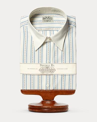 Eli Striped Cotton Dress Shirt