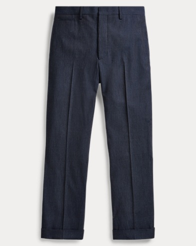 Slim Pinstripe Suit Trouser