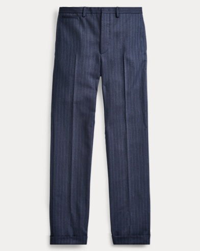 Slim Stretch Wool Suit Trouser