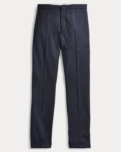 Birdseye Wool Trouser