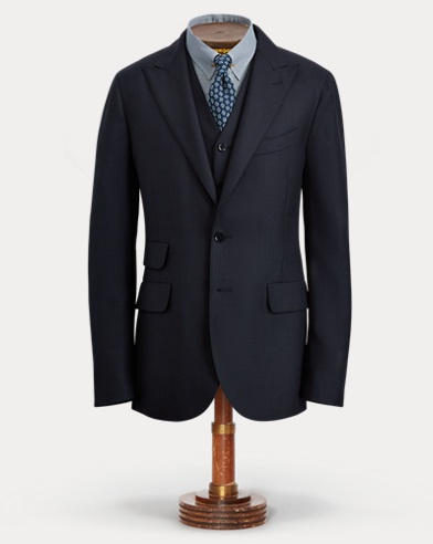 Birdseye Wool Suit Jacket