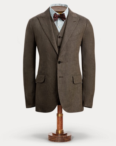 Linen Twill Suit Jacket