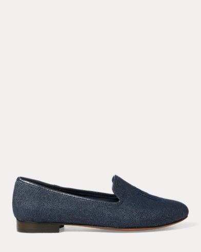 Collena Denim Flat