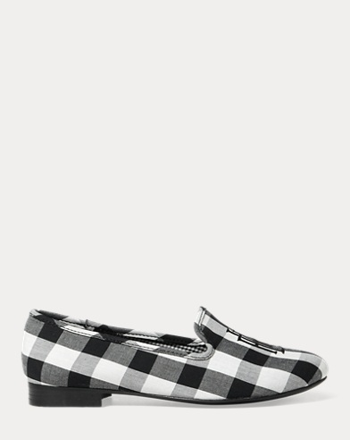 Coleena Cotton Gingham Flat