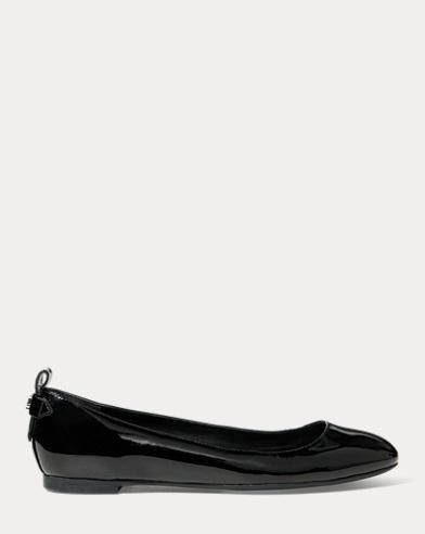 Glenna Leather Flat