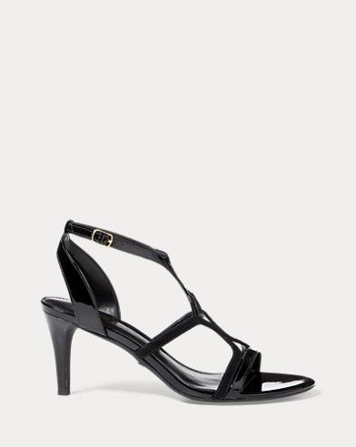Gilah Suede-Patent Sandal