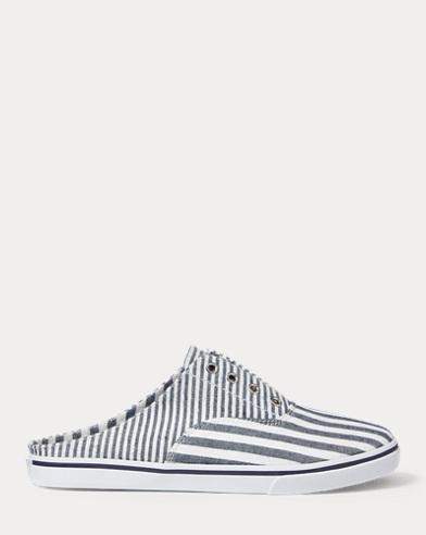 Jaida Striped Laceless Sneaker
