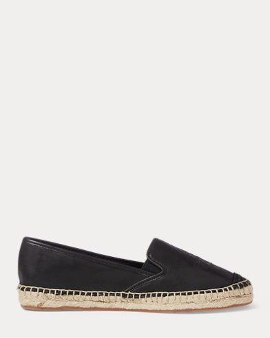Destini Leather Espadrille