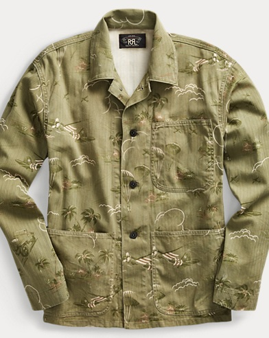 Cotton Chore Jacket