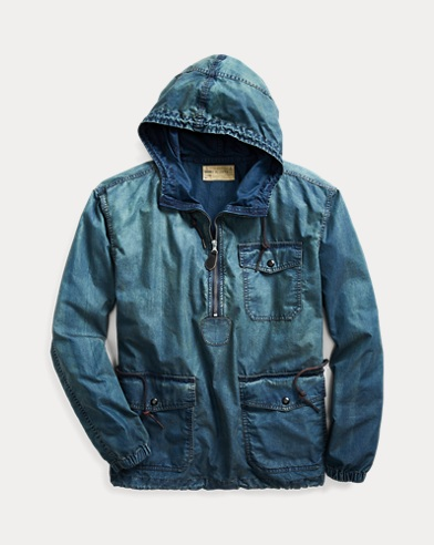 Cotton Ripstop Popover Jacket