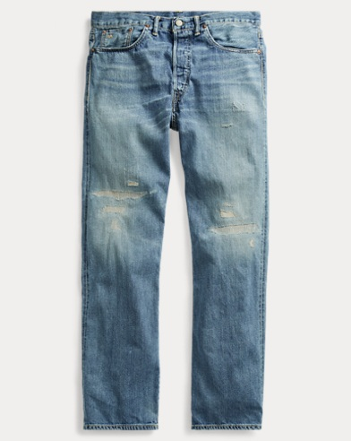 Relaxed Fit Selvedge Jean