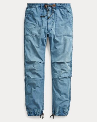 Cotton Utility Drawstring Pant
