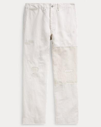 Cotton-Linen Field Chino