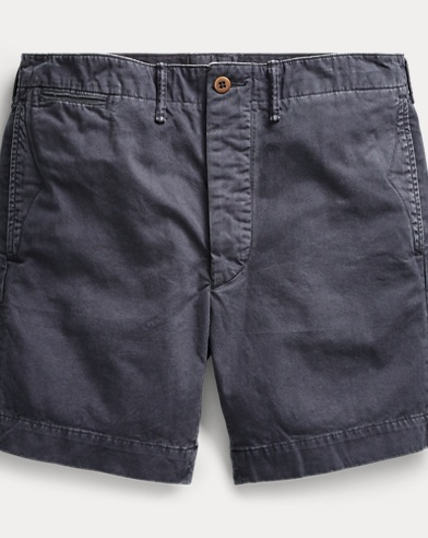 Cotton Chino Officer's Short