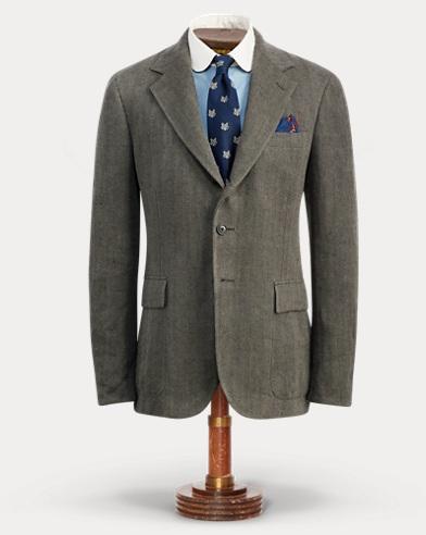 Indigo Linen Sport Coat