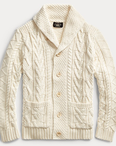Cotton-Silk-Linen Cardigan