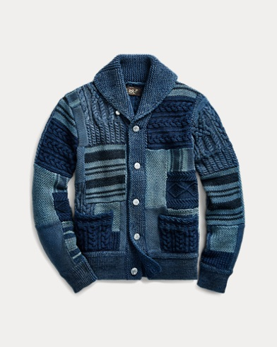 Patchwork Cotton Cardigan