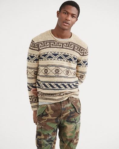 Silk-Blend Rollneck Sweater
