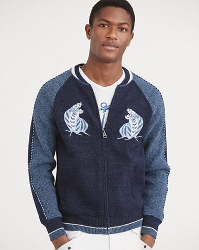 Souvenir Full-Zip Sweater