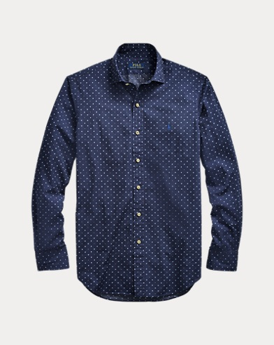 Classic Fit Geometric Shirt