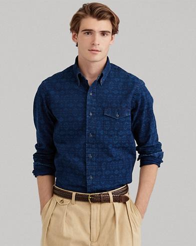 Classic Fit Southwestern Shirt